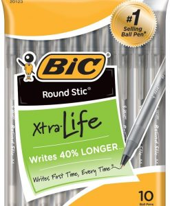 BIC-Round-Stic-Xtra-Life-Ball-Pen-Medium-Point-B00WO159G8