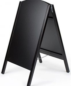 Black-A-Frame-Chalkboard-Sidewalk-Sign-for-Wet-Erase-and-Traditional-Stick-Chalk-21-x-34-Boards-Slide-Out-for-Easy-Updating-B00AYGUE92