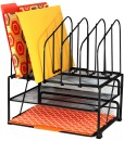 DecoBros-Mesh-Desk-Organizer-with-Double-Tray-and-5-Upright-Sections-B00H5D9J5M