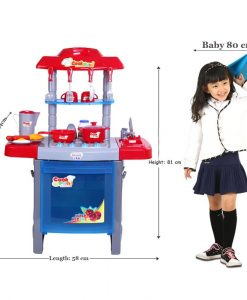 Emotionlin-Children-Play-Toy-Toy-Baby-Girl-House-Kitchen-Cooking-Utensils-and-Tableware-B0107XSB4G-2