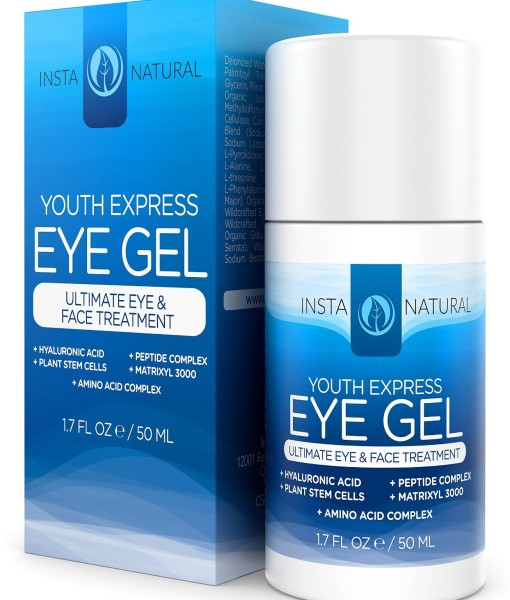 Eye-Cream-for-Wrinkles-Dark-Circles-Puffiness-Bags-BEST-100-Natural-Anti-Aging-Gel-With-Hyaluronic-Acid-Organic-Jojoba-Oil-MSM-Peptides-More-For-Men-Women-InstaNatural-17-OZ-B00KCFAZTE