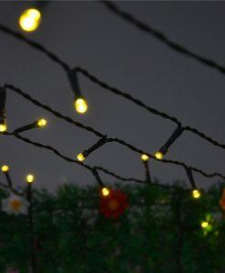 INST-Solar-Powered-LED-String-Light-Ambiance-Lighting-55ft-17m-100-LED-Solar-Fairy-String-Lights-for-Outdoor-Gardens-Homes-Christmas-Party-Warm-white-B00KGOCRLA-2