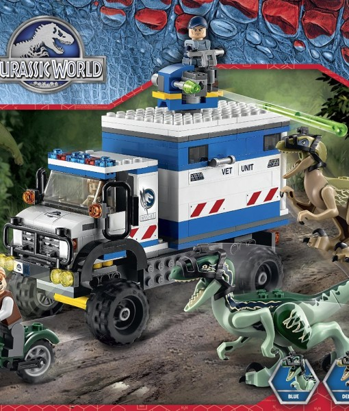 LEGO-Jurassic-World-Raptor-Rampage-75917-Building-Kit-B00UPB9RO4-2