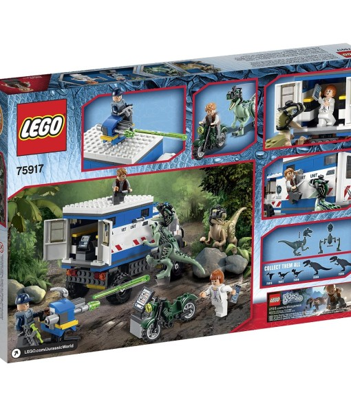 LEGO-Jurassic-World-Raptor-Rampage-75917-Building-Kit-B00UPB9RO4-3