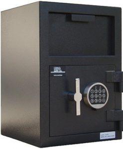 Mesa-Safe-Company-Model-MFL2014E-Depository-Safe-with-Electronic-Lock-Two-Tone-Gray-B001D6DG06