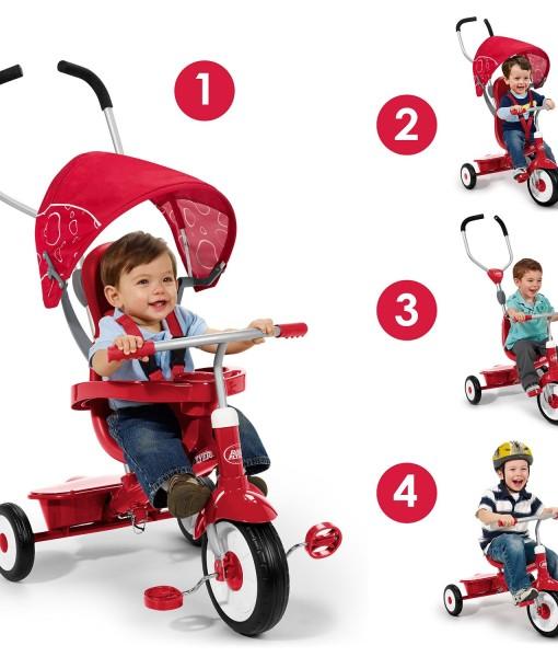 Radio-Flyer-4-in-1-Trike-Red-B003AVIO4K-2