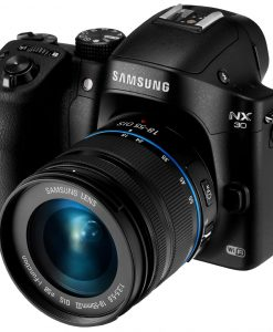 Samsung-NX30-203MP-CMOS-Smart-WiFi-NFC-Mirrorless-Digital-Camera-with-18-55mm-Lens-and-3-AMOLED-Touch-Screen-and-EVF-Black-B00HV6KGNM