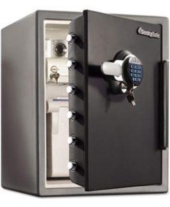 Sentry-Safe-SFW205GRC-Electronic-Water-Resistant-Fire-Safe-205-ft3-19-310-x-19-38-x-23-78-Black-SENSFW205GRC-B00MV7N8N6