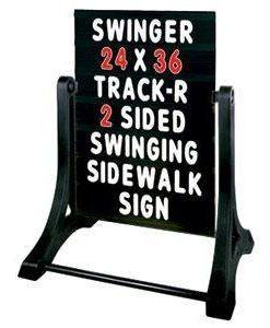 Swinger-Standard-Message-Board-Sidewalk-Sign-Black-B00A40EDY0