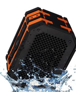 Waterproof-Speaker-Mpow-Armor-Portable-Bluetooth-Speaker5W-Strong-DrivePassive-Radiator-for-Waterproof-Shockproof-and-Dustproof-OutdoorShowerMP3PC-Speakers-with-Emergency-Power-Surpply-B010S2DEHK