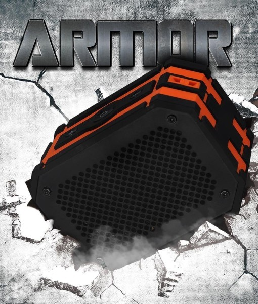 Waterproof-Speaker-Mpow-Armor-Portable-Bluetooth-Speaker5W-Strong-DrivePassive-Radiator-for-Waterproof-Shockproof-and-Dustproof-OutdoorShowerMP3PC-Speakers-with-Emergency-Power-Surpply-B010S2DEHK-3