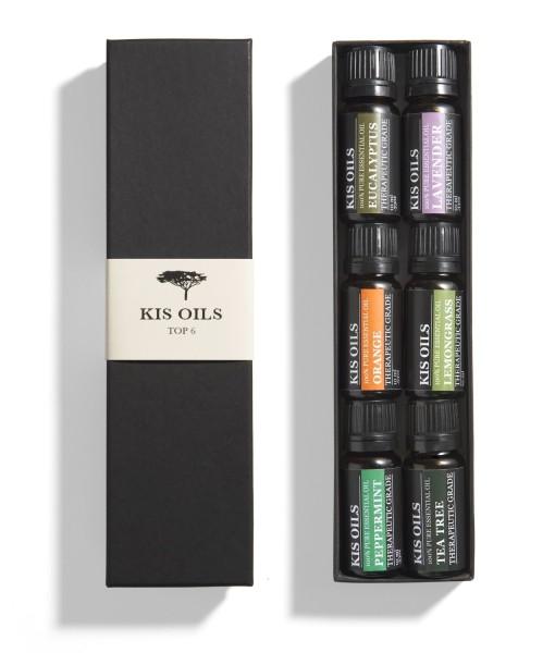 Aromatherapy-Top-6-100-Pure-Therapeutic-Grade-Basic-Sampler-Essential-Oil-Gift-Set-610-Ml-Lavender-Tea-Tree-Eucalyptus-Lemongrass-Orange-Peppermint-B005IHJ556