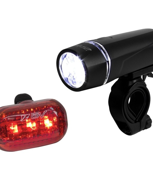 BV-Bicycle-Light-Set-Super-Bright-5-LED-Headlight-3-LED-Taillight-Quick-Release-B00A6TBITM