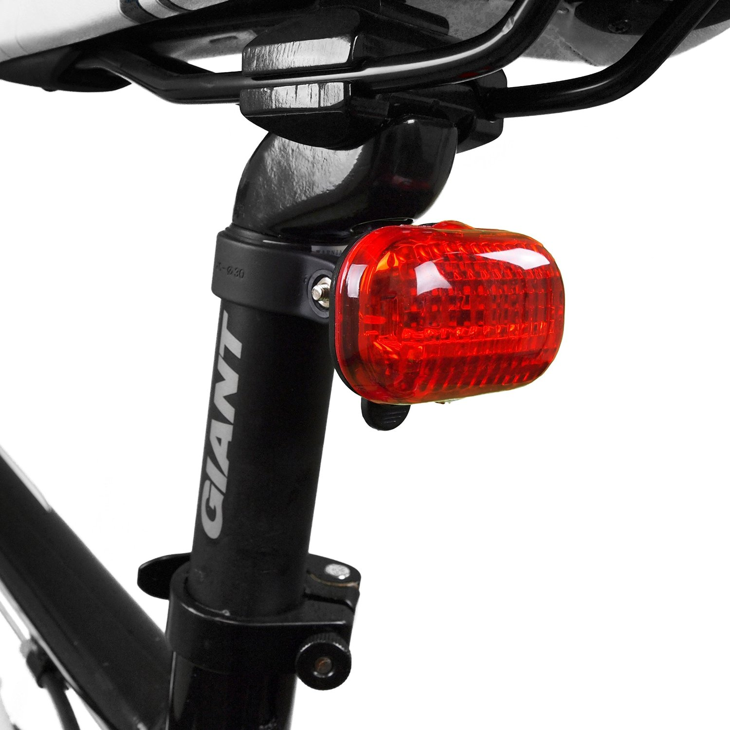 BV Bicycle Light Set Super Bright 5 LED Headlight Quick-Releas 3 LED Taillight