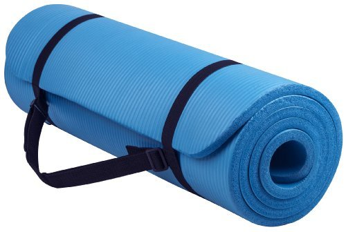 BalanceFrom-GoYoga-All-Purpose-12-Inch-Extra-Thick-High-Density-Anti-Tear-Exercise-Yoga-Mat-with-Carrying-Strap-B00FO9U43U