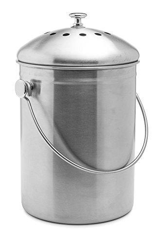 Epica-Stainless-Steel-Compost-Bin-1-Gallon-B00AMNCYNQ