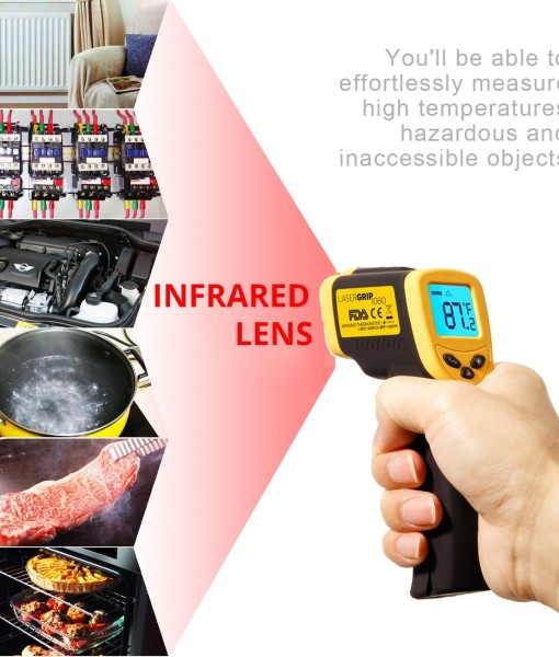 Etekcity-Lasergrip-1080-ETC-8550-Temperature-Gun-Non-contact-Digital-Laser-Infrared-IR-Thermometer-58-1022F-121-DS-Instant-read-FDAFCCCEROHS-Approved-B00DMI632G-4