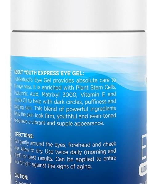 Eye-Cream-for-Wrinkles-Dark-Circles-Puffiness-Bags-BEST-100-Natural-Anti-Aging-Gel-With-Hyaluronic-Acid-Organic-Jojoba-Oil-MSM-Peptides-More-For-Men-Women-InstaNatural-17-OZ-B00KCFAZTE-2