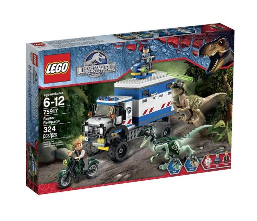 LEGO-Jurassic-World-Raptor-Rampage-75917-Building-Kit-B00UPB9RO4