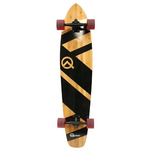 Quest-Super-Cruiser-Artisan-Bamboo-Longboard-Skateboard-44-Inch-B008EZNY4W