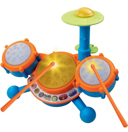 VTech-KidiBeats-Kids-Drum-Set-B007XVYSDE