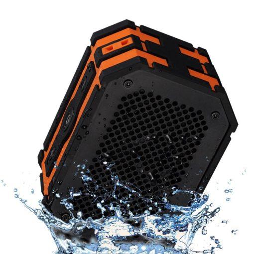 Waterproof-Speaker-Mpow-Armor-Portable-Bluetooth-Speaker5W-Strong-DrivePassive-Radiator-for-Waterproof-Shockproof-and-Dustproof-OutdoorShowerMP3PC-Speakers-with-Emergency-Power-Surpply-B010S2DEHK